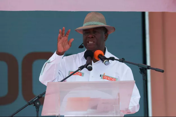 Alassane Ouattara, le 22 août 2020. REUTERS/Luc Gnago/File Photo