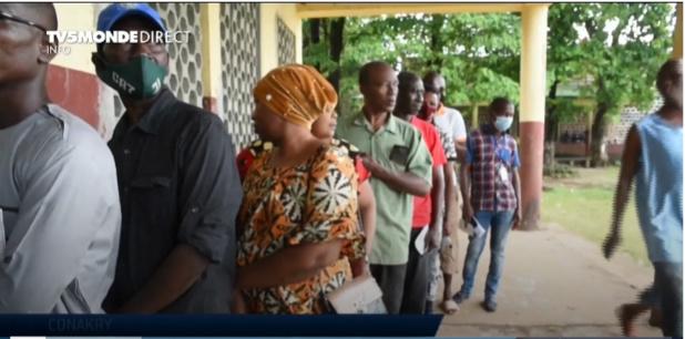 Electeurs Guinéens
