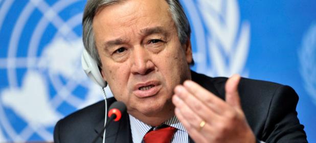 Antonio Guterres SG de l'ONU