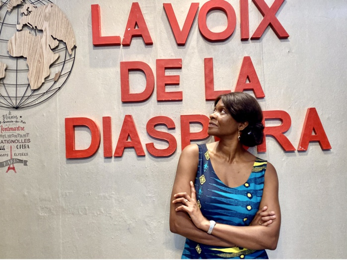 "Fatim Camara, Directrice de la Web Radio ""La voix de la diaspora"""