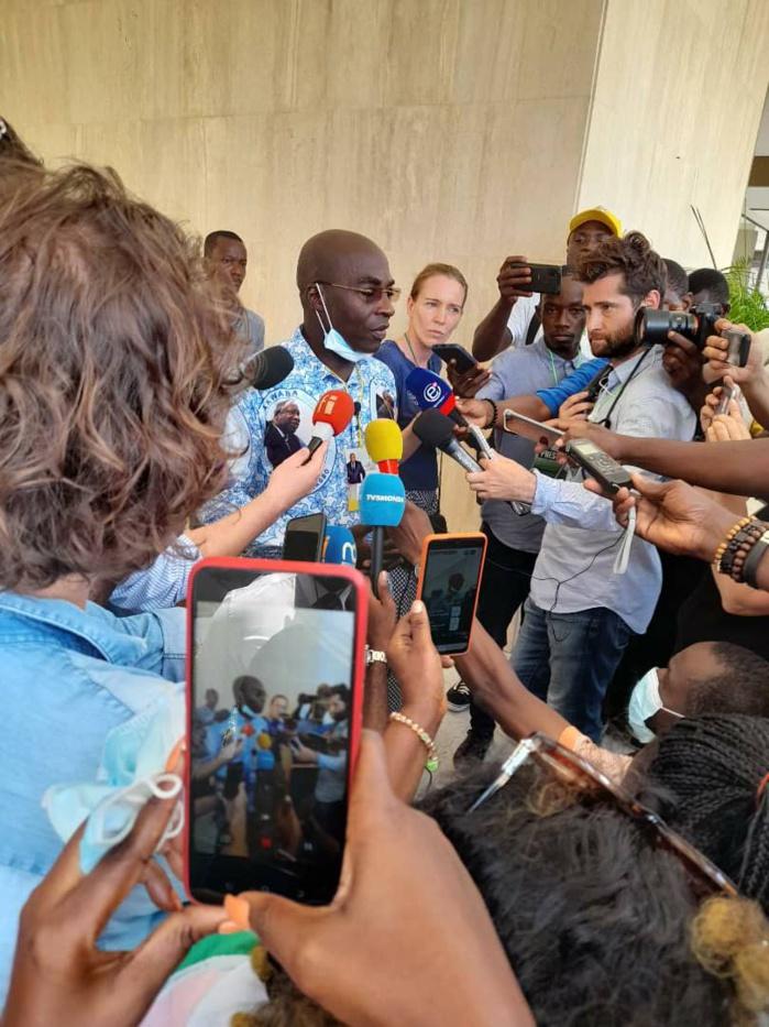 M. Franck Anderson KOUASSI, SGA du Comité d'accueil de l'ex-président Laurent GBAGBO