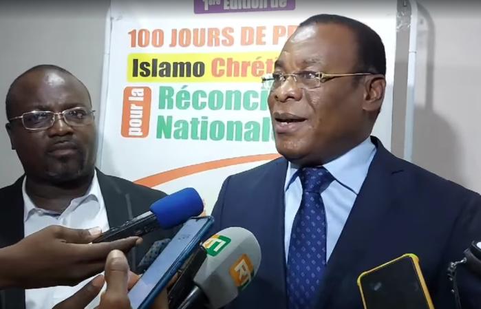 Pascal Affi Nguessan, vendredi 02 Juillet à la conférence sur la paix du FIPPDA
