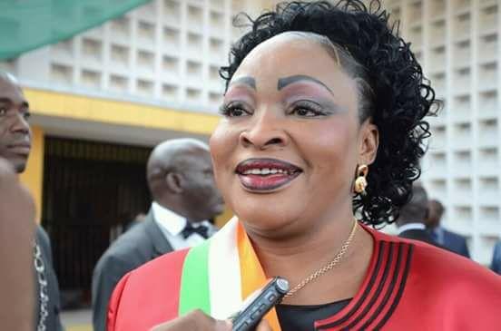 La députée RHDP Mariam Traoré