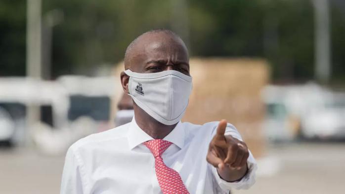 Le président haïtien Jovenel Moïse, le 7 mai 2020