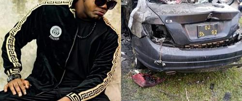 Douala : l'artiste Tenor victime d'un grave accident de la circulation