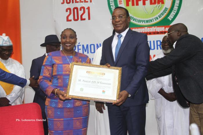 Côte d'Ivoire : La CRAF adresse ses félicitations à Pascal AFFI N'Guessan, fait ambassadeur de la paix