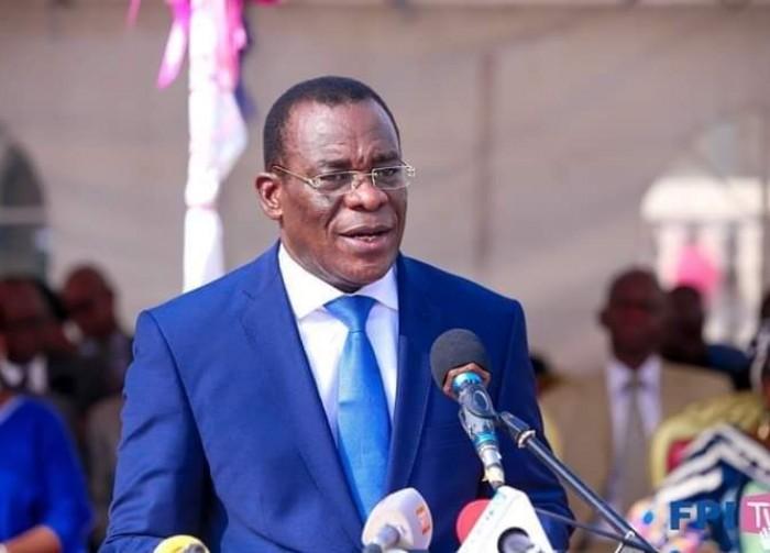 Affi N'guessan président du FPI