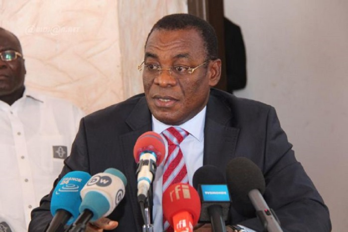 Pascal Affi, président du FPI