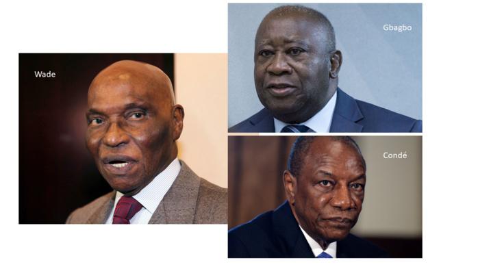 Wade, Condé et Gbagbo : Du rêve à la réalité !