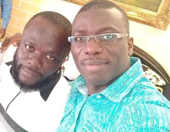Koua Justin et son avocat Me Dadjé Rodrigue