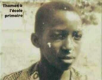 Thomas Sankara à l'école primaire