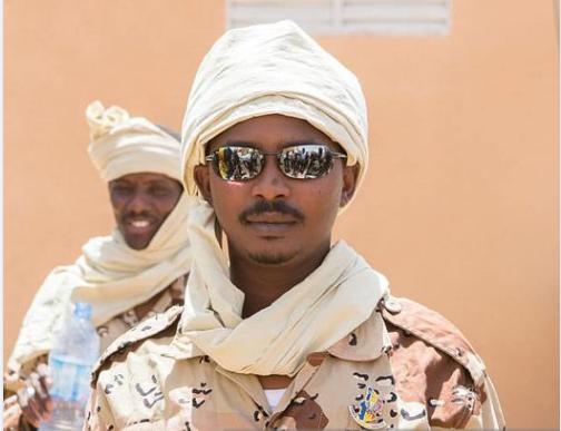 Le général Mahamat Idriss Déby Itno à Kidal