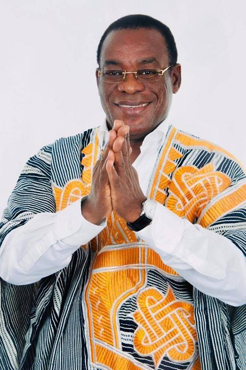 Pascal Affi N'Guessan, président du Front Populaire Ivoirien