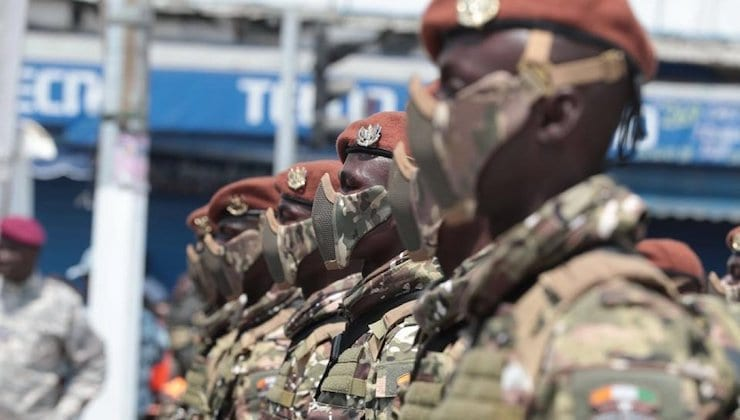 Armée Ivoirienne, credit photo Sahara média