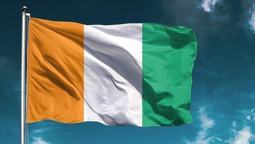 Le drapeau ivoirien
