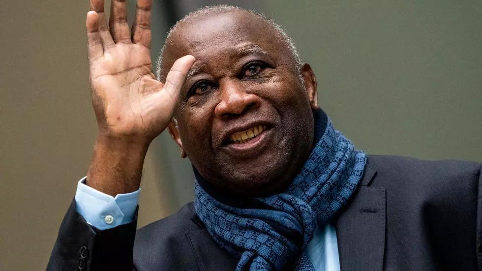 Laurent Gbagbo, ex président ivoirien lors de son audience à la CPI