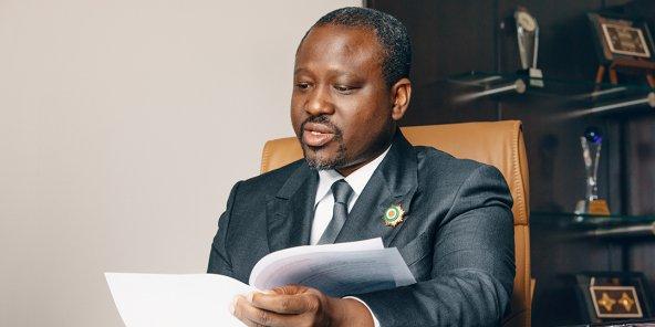 Soro Guillaume ex président de l'assemblée nationale de Côte d'Ivoire