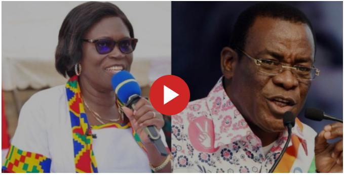 Simone Gbagbo et Affi N'guessan, sur Info7