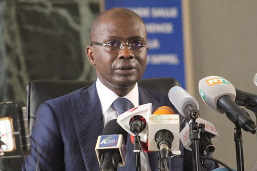 Adou Richard, le procureur de la République de Côte d'Ivoire