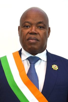L'honorable Doh Simon, Conseiller Spécial du président Henri Konan Bédié