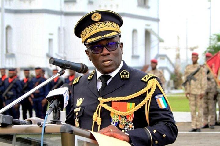 Le chef d'état-major général des Armées ivoirien, le général Lassina Doumbia