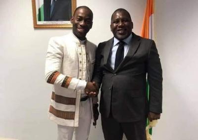 Sidiki Konaté et Makosso