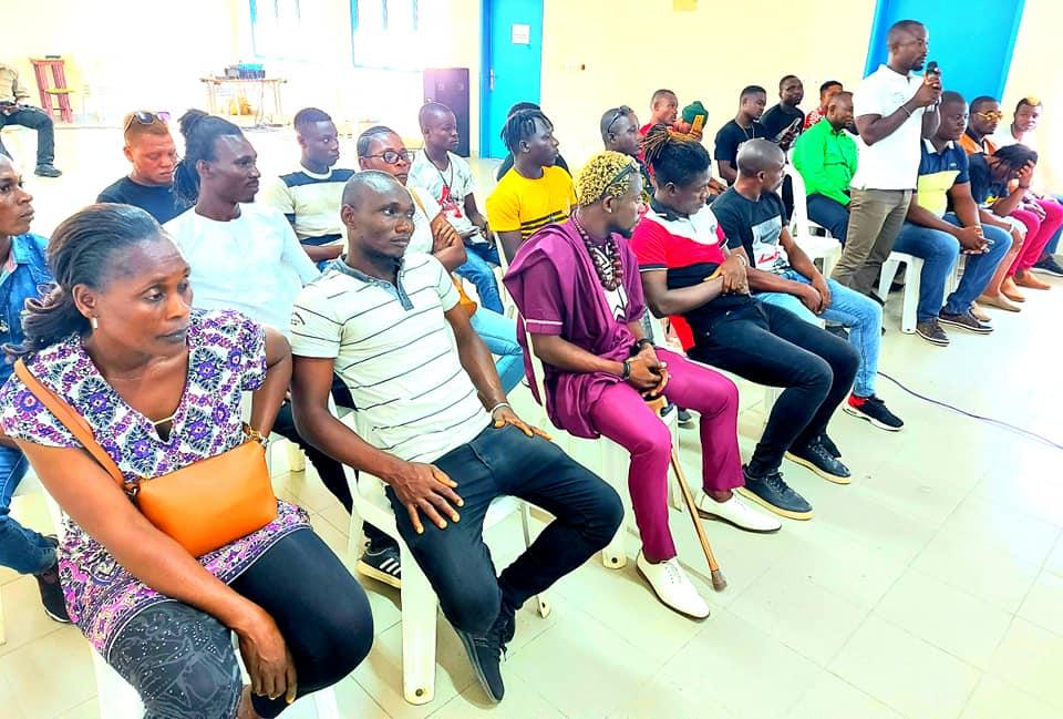 Des jeunes de la Marahoué apportent leur soutien à Affi