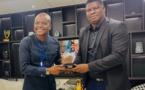 Côte d'Ivoire: Fabrice Sawegnon publicitaire, communicateur et promoteur de média reçoit officiellement son trophée honorifique de la PNCI