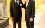 Côte d'Ivoire - FPI : Pascal Affi Nguessan reçu par Olivier Faure, responsable du Parti Socialiste